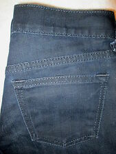 Old Navy Diva Lowest Rise Boot Stretch Womens Coated Jeans Size 1 R x 32 Mint