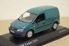 VW Caddy 2003 grün 1:43 Minichamps neu & OVP 400053100