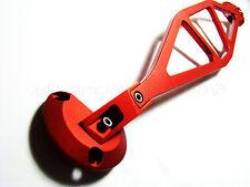 Bmw E46 330, Serie 325 Aluminio Sólido frente superior del puntal de abrazadera de barra roja