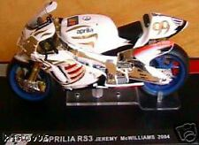 MOTO GP BIKE APRILIA RS3 MC WILLIAMS 2004 SCALE 1/24