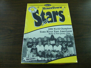Hometown Stars Cereal Box Little League 1998 World Champions---Factory Sealed