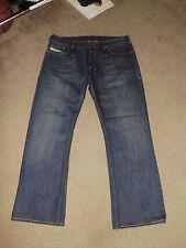 DIESEL INDUSTRY Men's ZATHAN 36 x 30 Bootcut Made in Italy Jeans ZAF Zatiny
