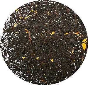 Buttered rum natural flavored black tea  loose leaf tea 1/4  LB