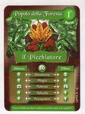 figurina - CARD GORMITI - SERIE 1 IL PICCHIATORE