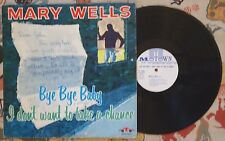 Mary Wells LP Bye Bye Baby I Don't Want To Take A Chance '61 Original Motown VG+