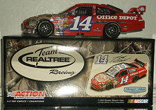 2009 TONY STEWART #14 OLD SPICE REAL TREE 1/24 CAR#1510 OF 1960 MADE NICE CAR