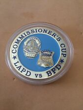 112th Marathon Boston vs LAPD Police Challenge Coin Commissioner's Cup 2008