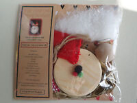 Christmas Xmas Gift Make Your Own Frosty Winter Snowman Wooden Kids Craft Kit