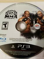 MMA - PS3 - PlayStation 3 - Disc Only - Tested - Fast Free Shipping!