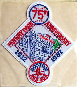 1987 BOSTON RED SOX ~ Willabee & Ward LOST TREASURES of BASEBALL TEAM PATCH ONLY