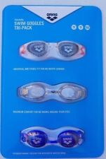 GENUINE Arena Swim Goggles 3 Pack For Adults FreeSuperfast Dispatch & Shipping!!
