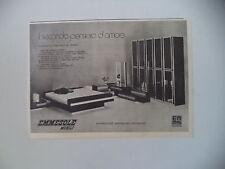 advertising Pubblicità 1973 EMMESOLE MOBILI - SENIGALLIA