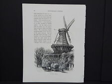 Picturesque Europe In-Text Illustration #48 The Windmill, Potsdam