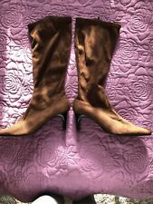 Ladies Brown Boots Size 7