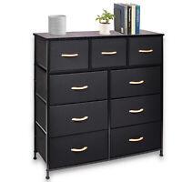 Dresser 9 Drawer Bedroom Furniture Storage Chest Organizer Closet Cabinet Home