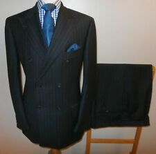 Suits & Suit Separates Official Website Mens Ciro Citterio Black Stripe Single Breasted Suit Jackets 44r Trousers 38r Be Friendly In Use
