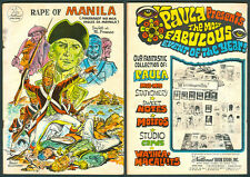 Philippine National Illustrated Komiks RAPE OF MANILA Comics