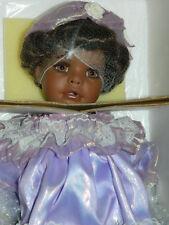 "KAYLA 22"" TALL LARGE BLACK Porcelain Welden Museum BY RUSTIE Doll"
