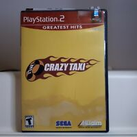 Crazy Taxi Playstation 2 PS2 Authentic/Cleaned/Tested