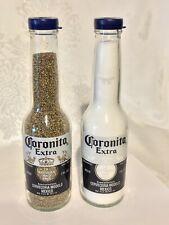 CORONA Coronita SALT AND PEPPER SHAKERS - Perfect for Parties Picnics or ManCave