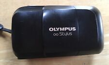 Rare Olympus Stylus 35mm Point & Shoot Film Camera - Tested Works! Quartz Date