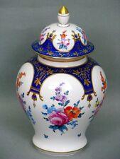 Dresde potschappel balaustre jarrón con knaufdeckel alrededor de 1920 - 1