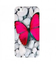 Coque Iphone 4 4S Papillon rose fushia butterfly