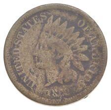 Civil War Era - 1862 Copper Nickel Indian Head Cent - Historic *199