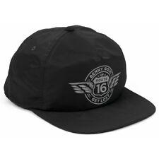 10544975ff7 Benny Gold ROUTE Black Grey Screenprint Logo Snapback Adjustable Men s Hat
