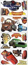 Roommates Rmk1520Scs Disney Pixar Cars Piston Cup Champs Peel & Stick Wall De...