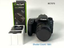 Canon EOS 77D 24.2 MP Digital SLR Camera (Kit with EF-S 18-55mm Lens) 1861 CLICK