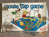 Complete Vintage Ideal Mousetrap Board Game 1963 - board game retro classic Trap