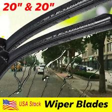 "20""+20"" Windshield Wiper Blades High Quality Beam Premium Hybrid silicone J-Hook"