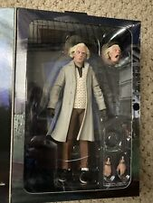 """Back to The Future Ultimate Doc Brown 7"""" Action Figure - NECA"""