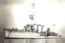 ROYAL NAVY C CLASS LIGHT CRUISER HMS CAROLINE THEN AND NOW - 17 PHOTOS