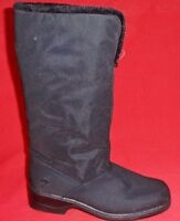 Women's TOTES CYNTHIA Black Faux Fur Winter/Snow Insulated Waterproof Boots New