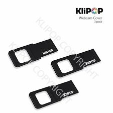 NEW! KLIPOP Webcam Privacy Camera Lens Cover for iPhone/Laptops, Metal SET