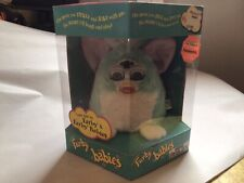 Furby Babies Mint Green & White In Original Box Never Opened By Tiger Electronic