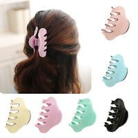 AU_ KE_ Women Acrylic Clamp Large Claw Hair Clip Hairpin Headwear Hair Accessori