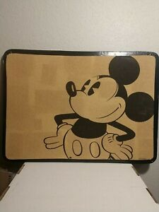Mickey Mouse Cork Pin Board - Disney - Rare