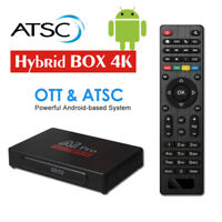 Android TV Box 1080P ATSC Converter Box Recording PVR Multimedia H.265 Decoding