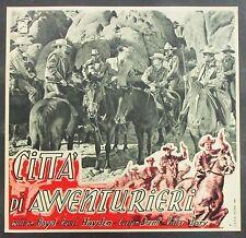 Città di avventurieri - Boyd Hayden Brent Jory 1941 Film Poster Plakat (Y-4540+
