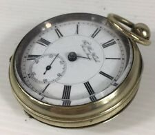 Antique Circa 1889 The Plan Watch Swiss Made Pocket Watch (Not Working)