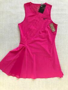 NEW RARE Women's Nike Maria Sharapova Tennis Dress Pink CK7996 616 MEDIUM $120