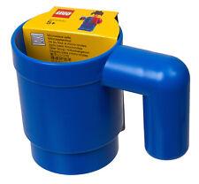 PRONTA CONSEG. - LEGO 853465 TAZZA GRANDEZZA NATURALE BLU MUG BLUE - IDEA REGALO