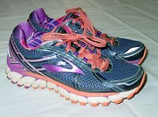 Womens Brooks Athletic Shoes Size 7 Dark Blue Purple GTS-15 Running