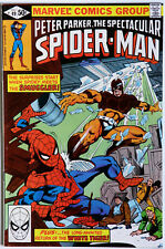Peter Parker Spectacular Spider-Man #49 Vol 1 Marvel Comics Roger Stern Jim Moon
