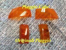 GEMME FRECCE ORIGINALI PIAGGIO VESPA PX 125-150-200 ARANCIONI  ANT E POST