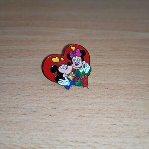 Pins Mickey et Minnie Coeur