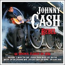 Johnny Cash-Rebel 3 CD (Box-Set) Nuovo